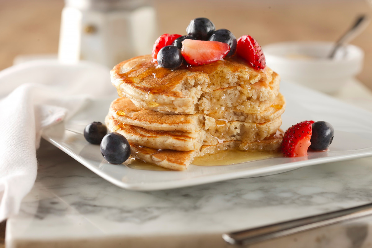 Buttermilk pancakes at Melba's NYC