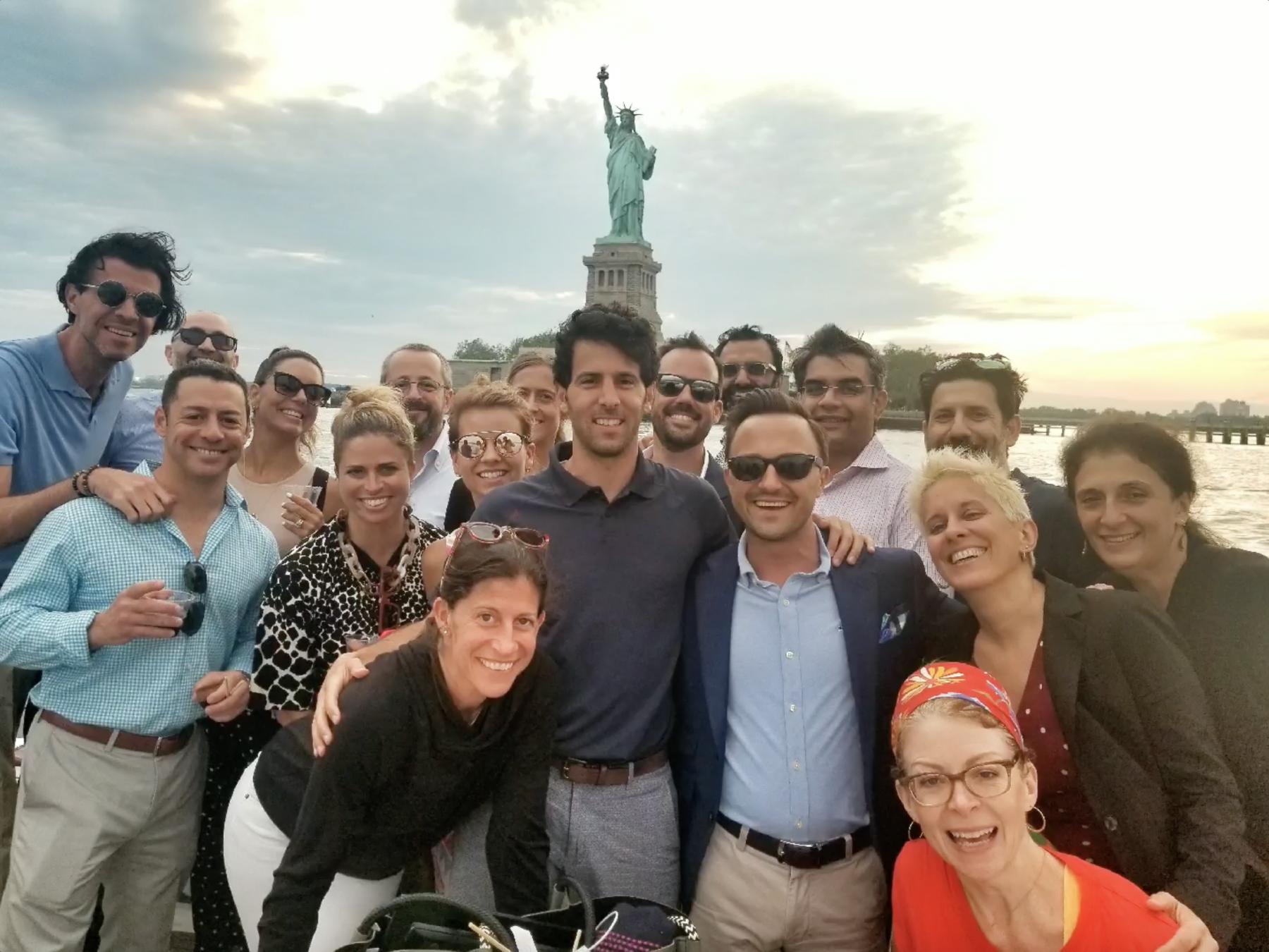 NYCHG Meeting at Statue of Liberty