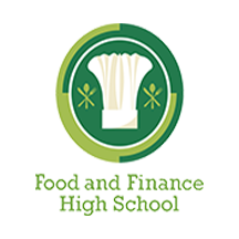 Food & Finance High School Logo